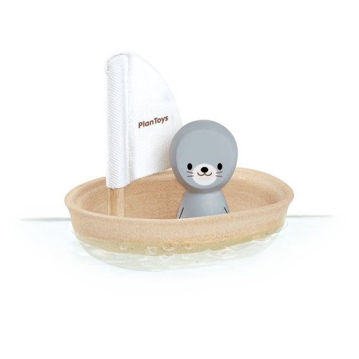 5710_PlanToys_SAILING_BOAT-SEAL_Water_Play_Imagination_Language_and_Communications_Explore_Fine_Motor_12m_Wooden_toys_Education_toys_Safe