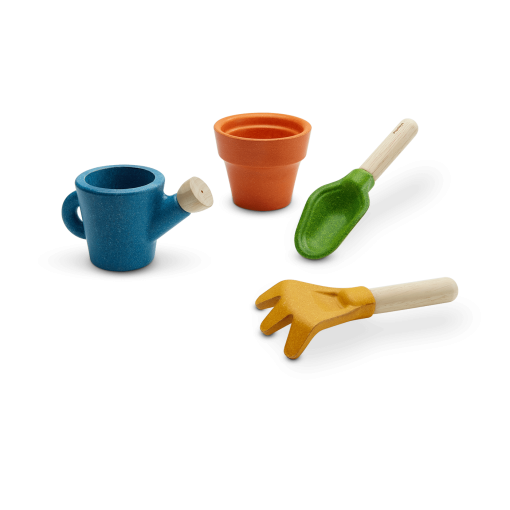 8622_PlanToys_GARDENING_SET_PlanHome™_Social_Imagination_Fine_Motor_Coordination_Language_and_Communications_3yrs_Wooden_toys_Education_toys_