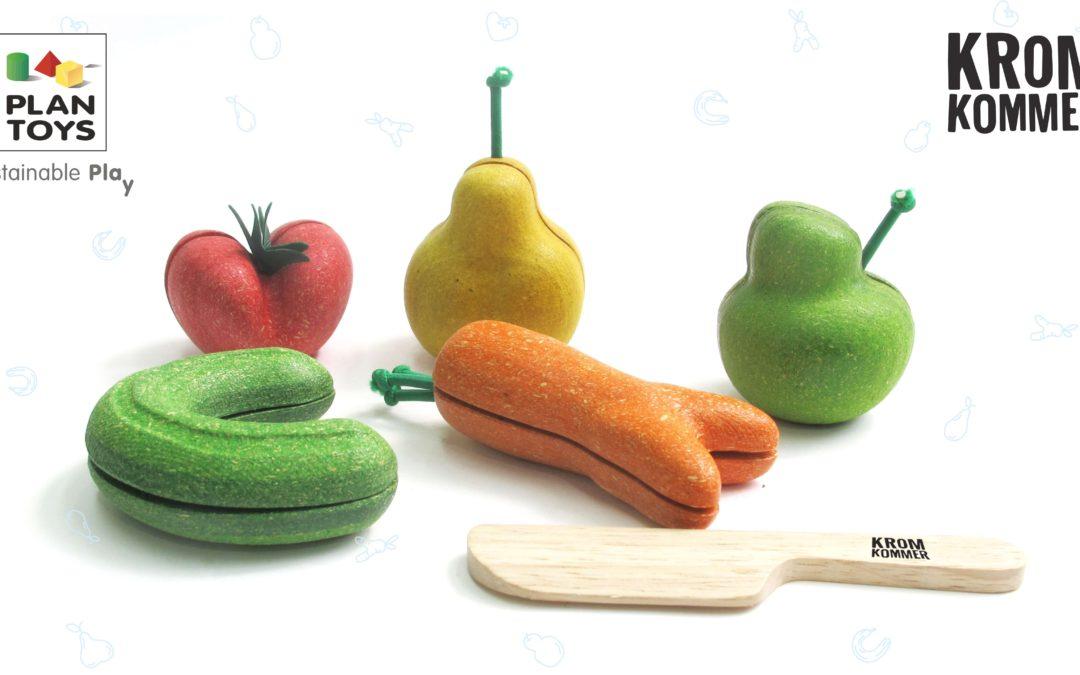 Wonky gyümölcs és zöldség szett